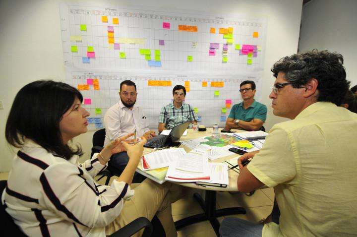 Reunião técnica com equipes de Planejamento, Educação e Cultura