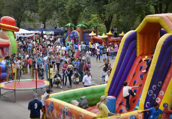 Brinquedos infláveis e muitas atrações gratuitas estarão à disposição no dia 12