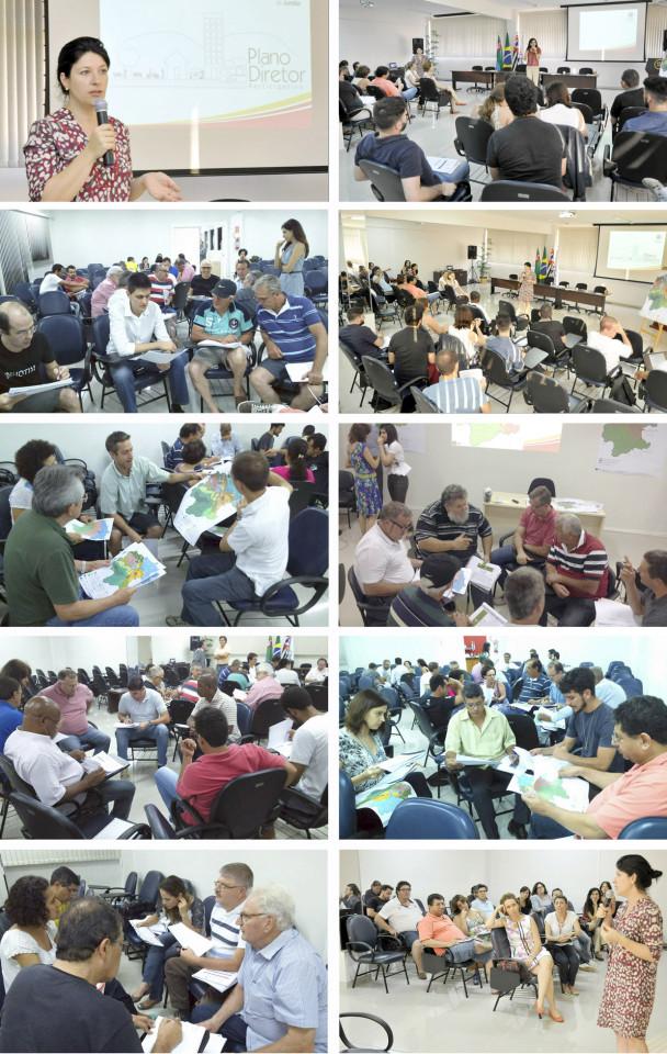 Delegados dos mais diversos segmentos participaram das capacitações: rumo a propostas e ajustes