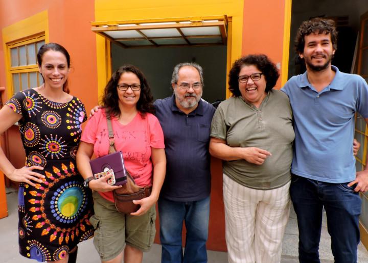 Diretoria de Patrimônio recebeu representantes do bloco Refogado do Sandi