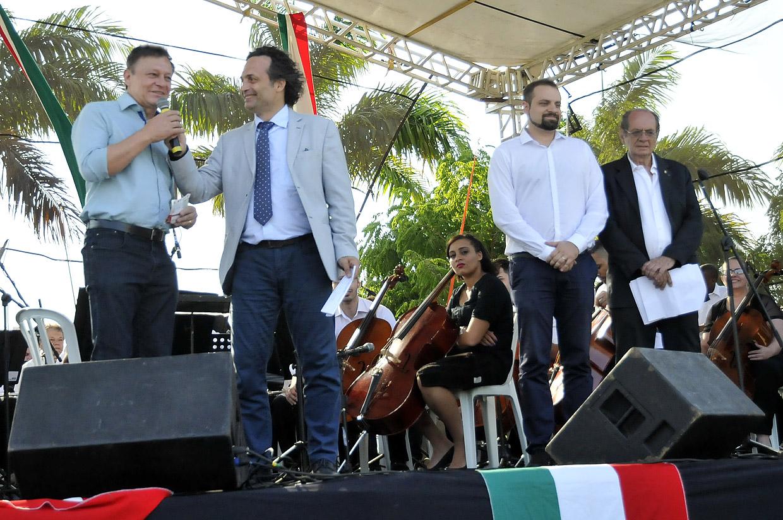 Prefeito Pedro Bigardi fala da importância da Itália na história de Jundiaí