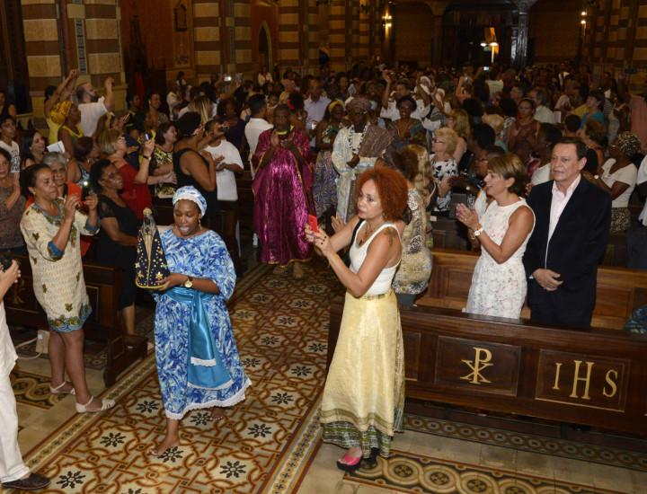 Missa Afro ocorrida em 2015, na Catedral