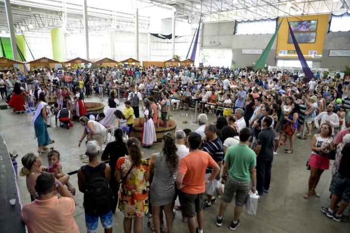 A Festa da Uva 2016 vai coincidir com o auge da safra