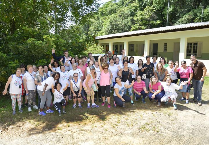 Primeira turma a participar do Energiza foi do Centro Esportivo Romão de Souza