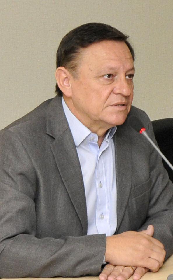 Prefeito Pedro Bigardi durante reunião que fechou o ano do GGIM