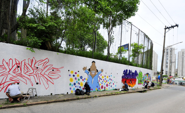 Próximo à Ponte Torta, atividade encerrou primeira fase do Urbanismo Caminhável