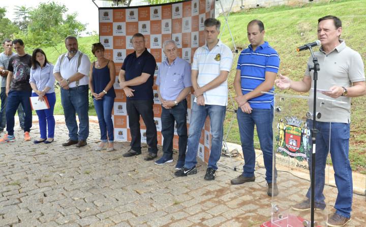 Prefeito Pedro Bigardi destaca a importância do parque para a região do Engordadouro