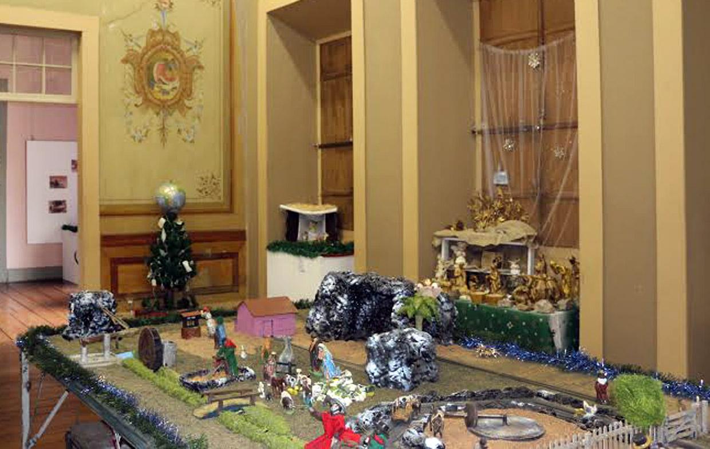 Exposição de presépios é tradição no Museu Solar do Barão