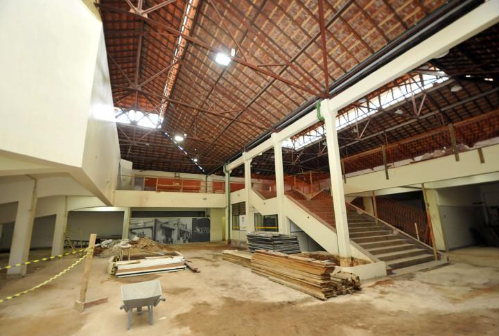 Local vai receber estruturas elevatórias de acessibilidade, salas de ensaios e café
