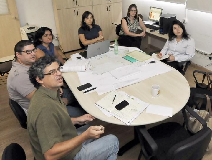 As oficinas foram definidas pela equipe do processo