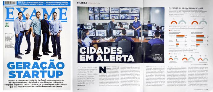 Revista Exame comprova eficácia do sistema de monitoramento da GM de Jundiaí