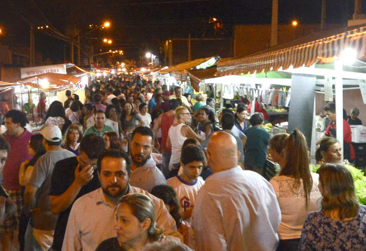 Evento foi sucesso e atraiu população do bairro e da região