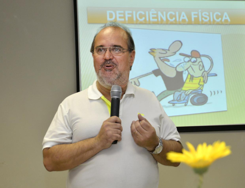 Reinaldo Fernandes é coordenador dos Diretos da Pessoas com Deficiência