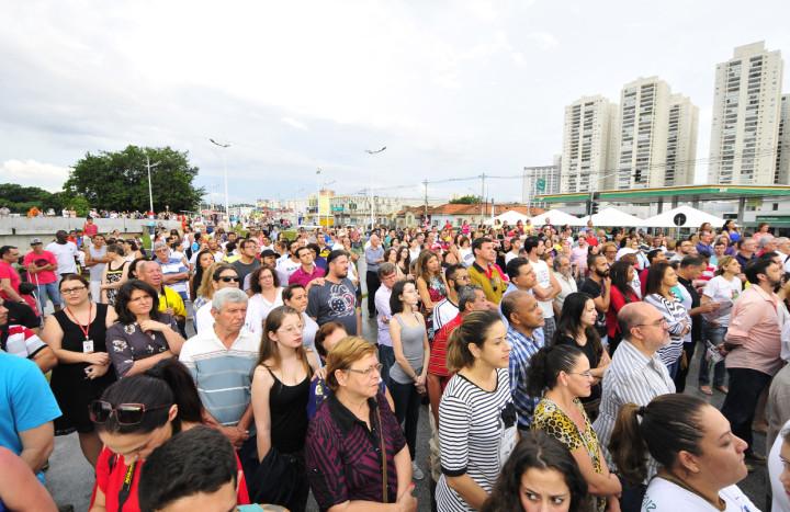 Muita gente marcou presença no evento: festa também para os 360 anos de Jundiaí