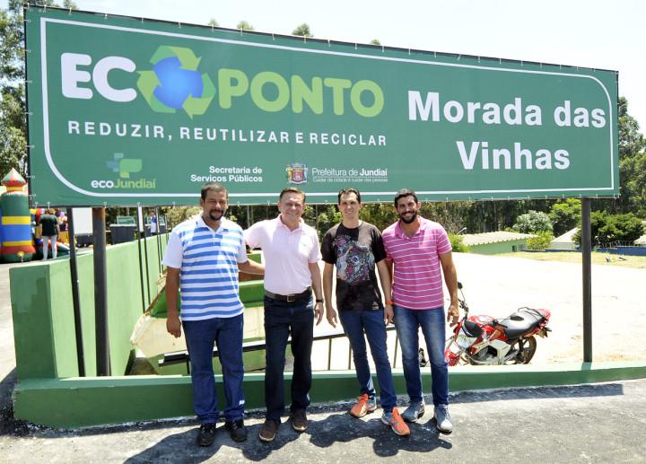 O Ecoponto permite o descarte consciente de resíduos