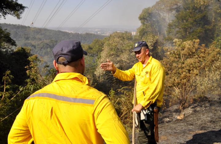 Ações de combate a incêndios reuniram Jundiaí, cidades vizinhas e fazendeiros