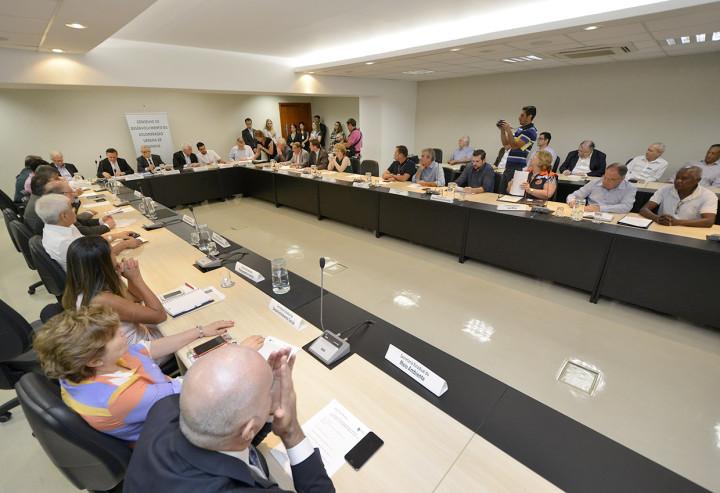 Saúde, gestão de resíduos sólidos e questão energética foram abordadas na reunião da AUJ