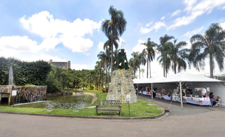 A feira, a árvore e a água: atração até a quarta-feira (23) no Botânico