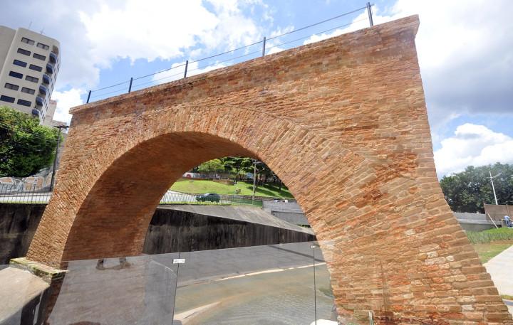 A Ponte Torta, já recuperada e pronta para ser 'devolvida' à comunidade