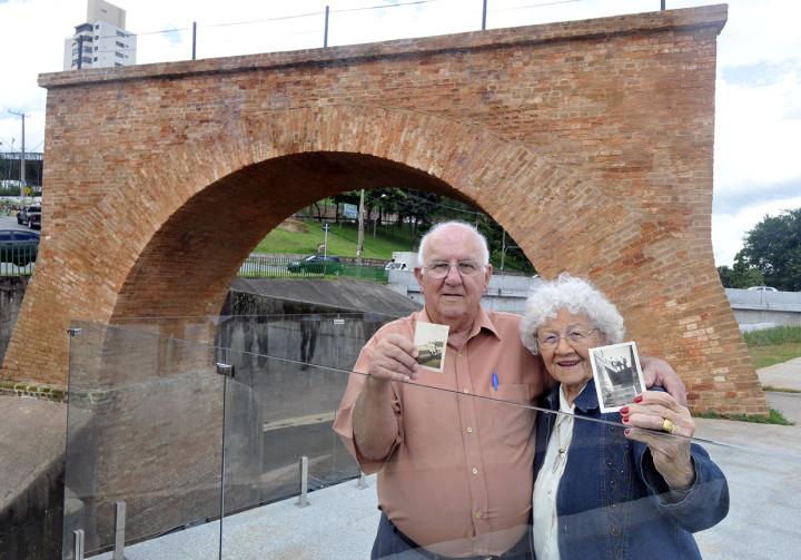 Maria Tercília Espadoni e Valdomiro José Imperato, ambos com 85 anos