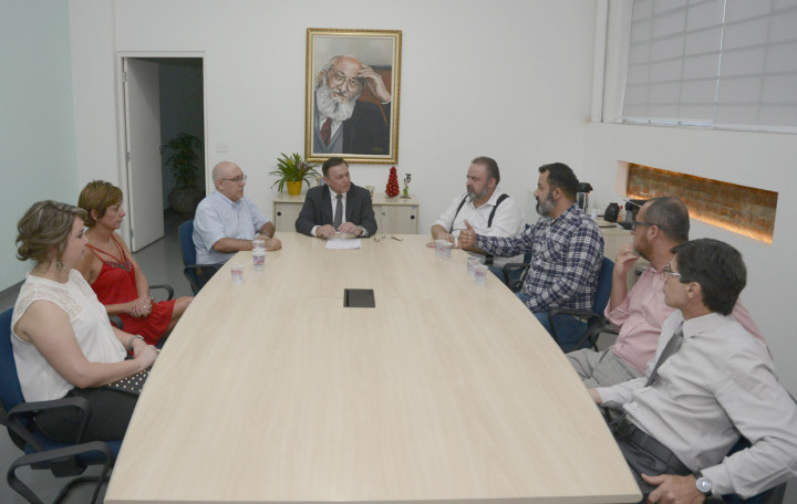 Assinatura do acordo reforçou a ligação entre a Prefeitura e o Instituto