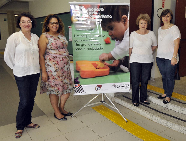 A capacitação reuniu também enfermeiras e articuladoras do projeto