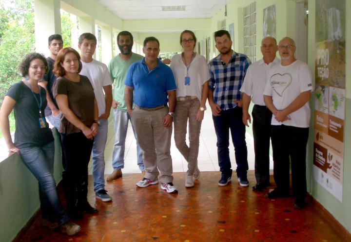 Os visitantes também conheceram a situação da Reserva Biológica Municipal da Serra do Japi