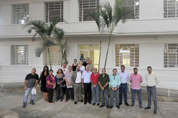 Conselheiros elogiaram estágio da reforma e esperam realizar o sonho dos moradores do Centro