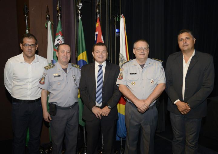 Coordenador especial do GGIM, José Carlos Pires, representou o prefeito Pedro Bigardi na solenidade