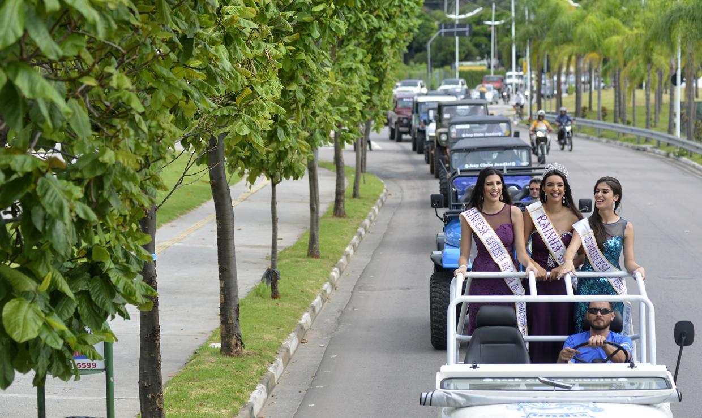 Corte da Uva participa do passeio do Jeep Clube Jundiaí