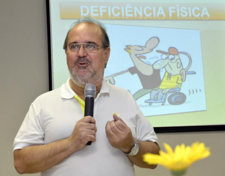 Reinaldo: O objetivo é orientar às empresas para motivar a contratarem pessoas com deficiência