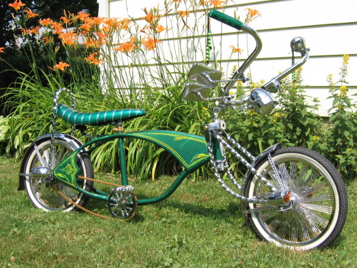 Bicicletas customizadas também serão expostas