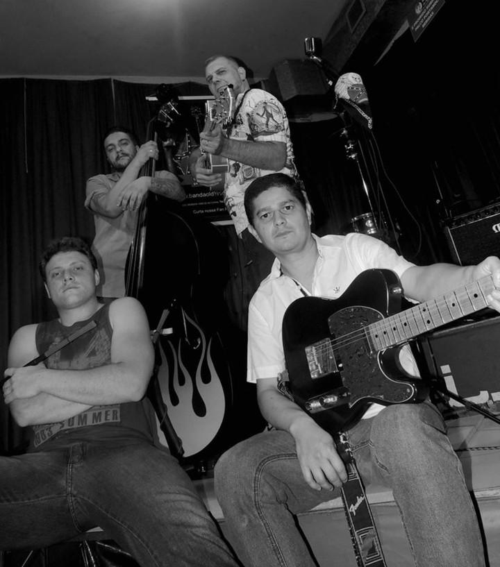 """Rock dos anos 50 e 60 abrilhanta a programação musical, com a banda """"Old Black Joe"""""""
