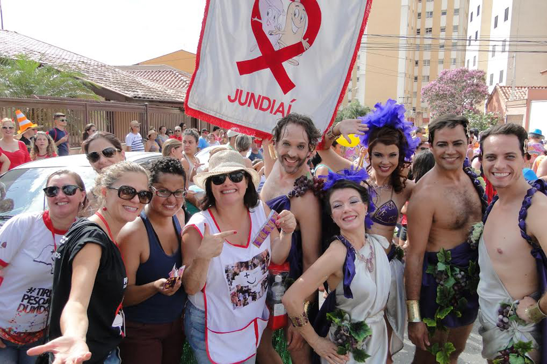Bloco da prevenção: equipe do CTA intensifica campanha no carnaval