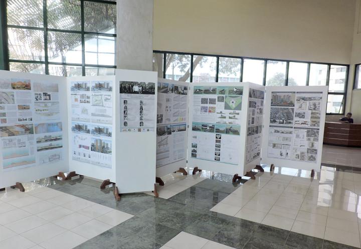 Exposição apresenta projetos do curso de Arquitetura e Urbanismo