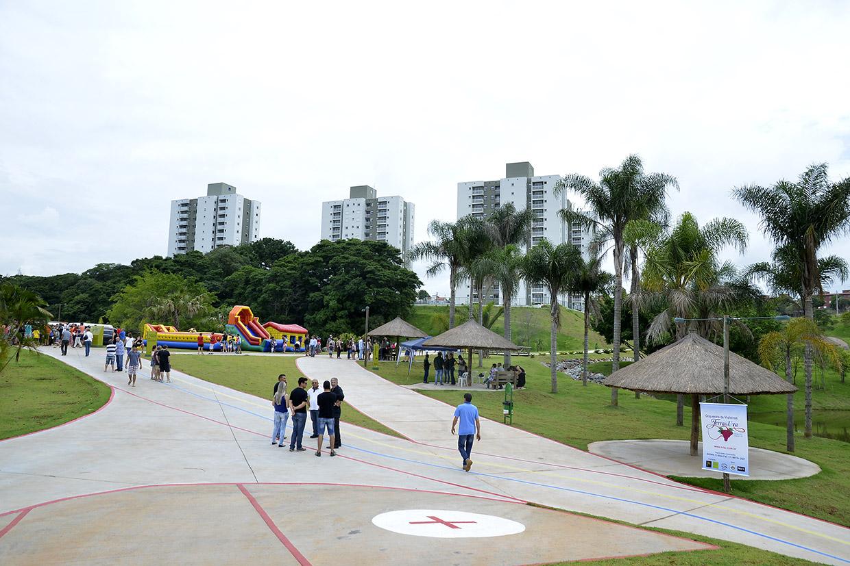 Parque do Engordadouro vai funcionar das 6h às 19h