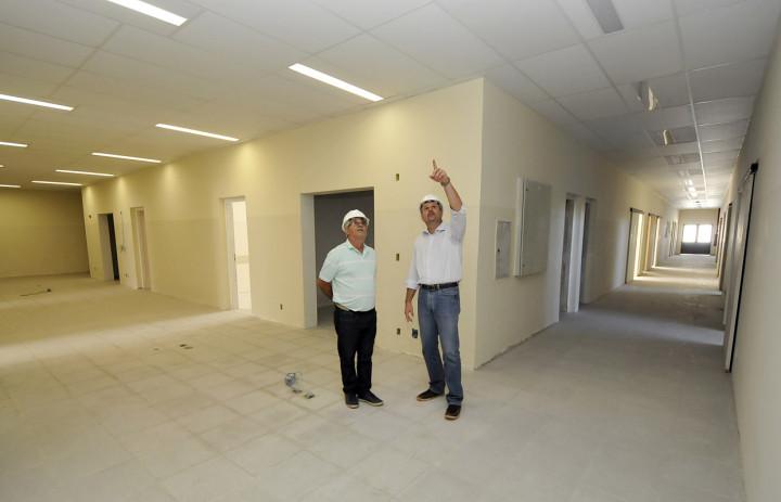 UPA do Jardim Novo Horizonte está em fase de acabamento