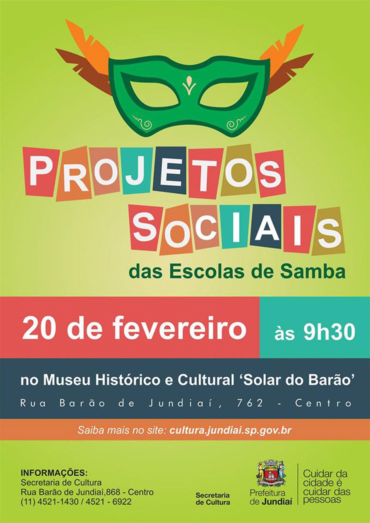 Encontro orienta a integração entre as escolas de samba e suas comunidades