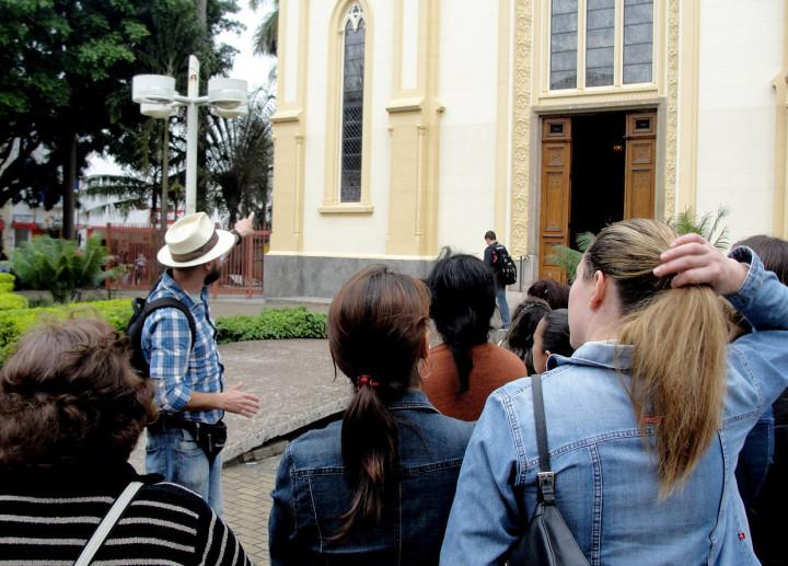 Ação propõe um exercício de interpretação histórica sobre o Centro