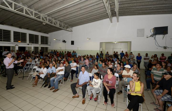 Prestação de Contas no Novo Horizonte atraiu um grande número de pessoas