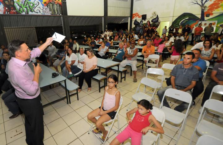 Morada das Vinhas recebeu a Prestação de Contas na quinta-feira e a população aprovou a iniciativa