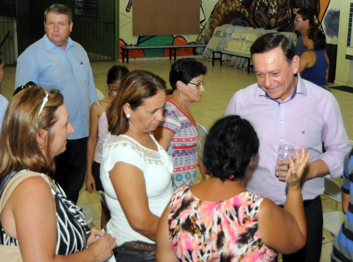 Para o prefeito Pedro Bigardi, é importante ouvir a população durante estes encontros
