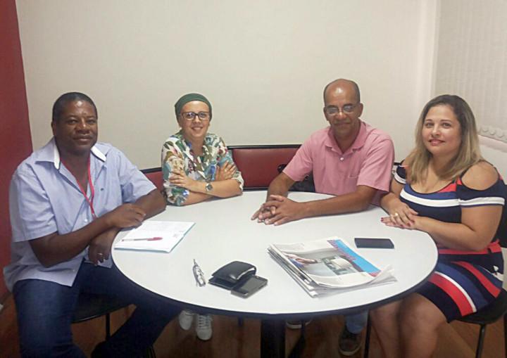 Equipe das coordenadorias e Leila Casote, da Apeopesp