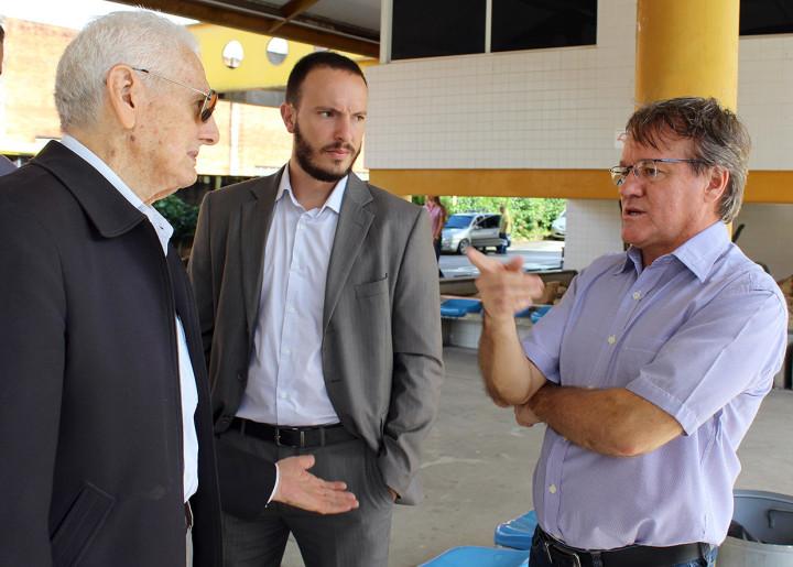 Wilson Folgozi recebe representantes do transportes de Campinas