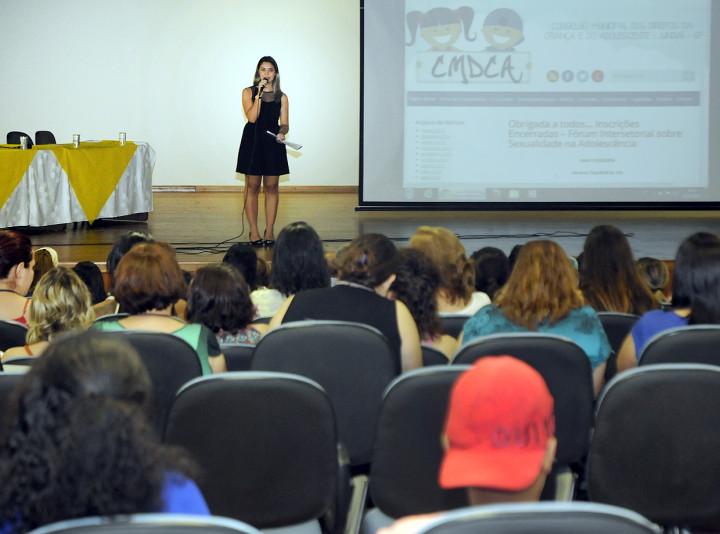 Para Narrinam Camargo, proposta do fórum é compartilhar informações e dificuldades sobre o tema