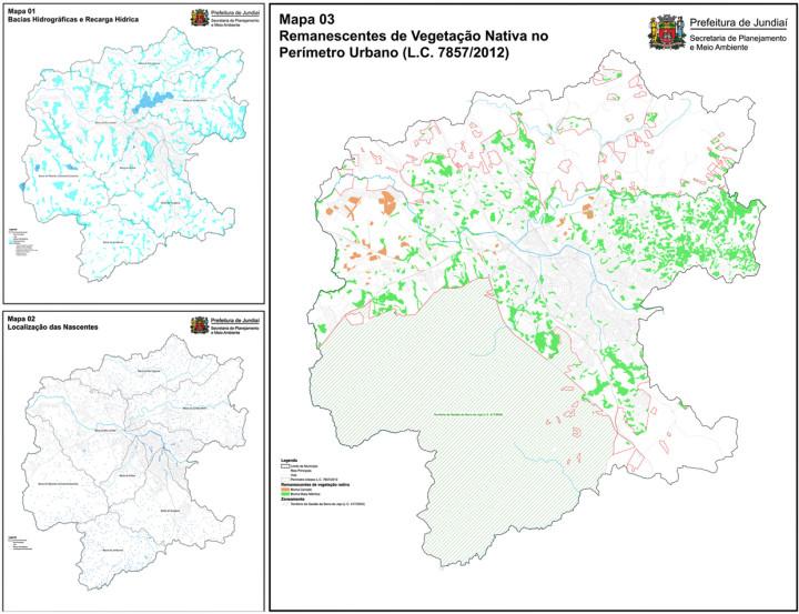 Mapas trazem esforço inédito dos técnicos de diversos setores públicos de Jundiaí