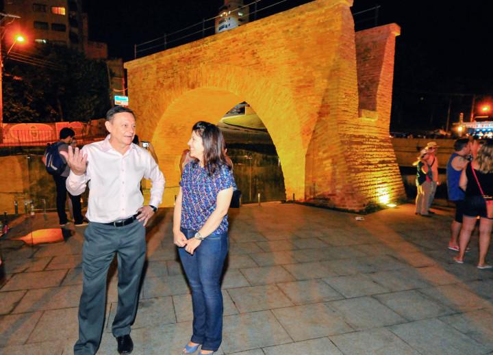 Ponte Torta passou pelo processo de conservação e zeladoria