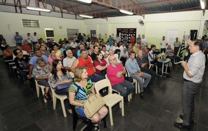 Reunião contou com ampla participação da comunidade