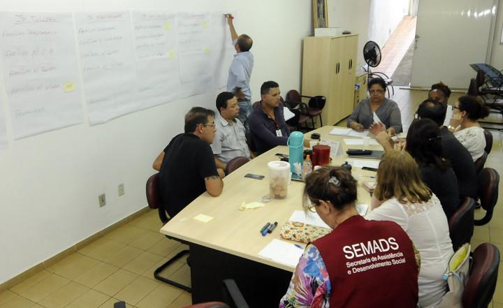 Semads se reuniu com técnicos para definir ações de atendimento às vítimas das chuvas