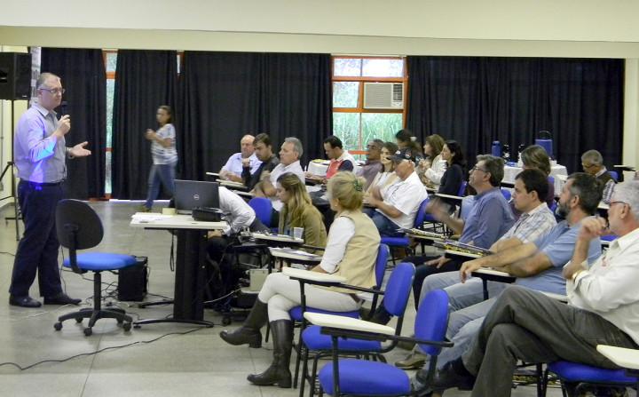 Diversas instituições estiveram representadas no seminário